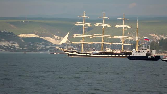 美しいヨットを海 - ポートワイン点の映像素材/bロール