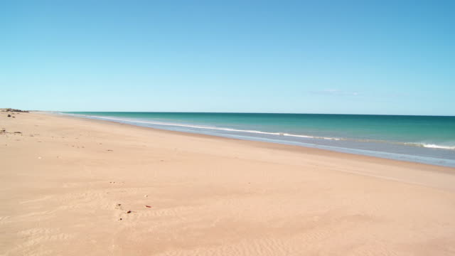 HD: Beautiful Sandy Beach Near Broome