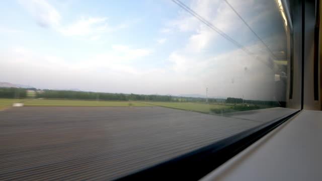 schöne Szene aus Fenster