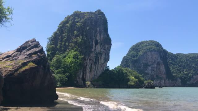 Meer und Sand Sommerszene Landschaft in Pak Meng Beach Trang Provinz, Thailand