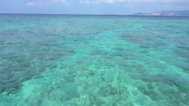 beautiful seascape and horizon - horizon over water stock videos & royalty-free footage