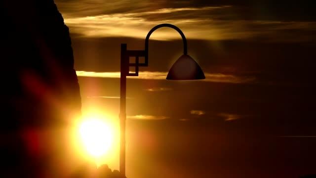 beautiful silhouette scene of seiser alm (alpe di suisi), italy - sciliar schlern video stock e b–roll