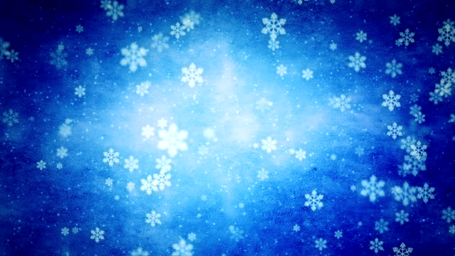 beautiful snowflakes background loop - december stock videos and b-roll footage
