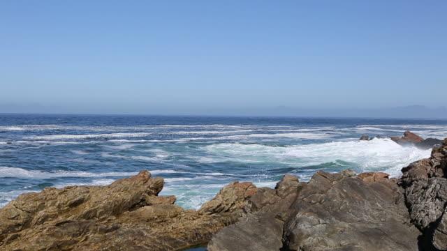 beautiful south african coastline - water's edge stock videos & royalty-free footage
