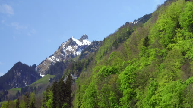 Beautiful spring scenes near Luzerne and Mt.Huetstock