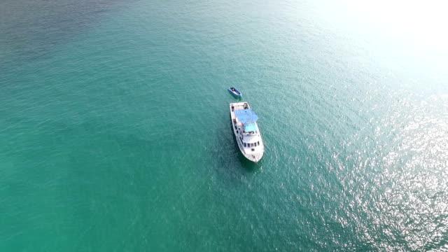 美しい日光シービューボートでトロピカルな海 - クルーズ点の映像素材/bロール