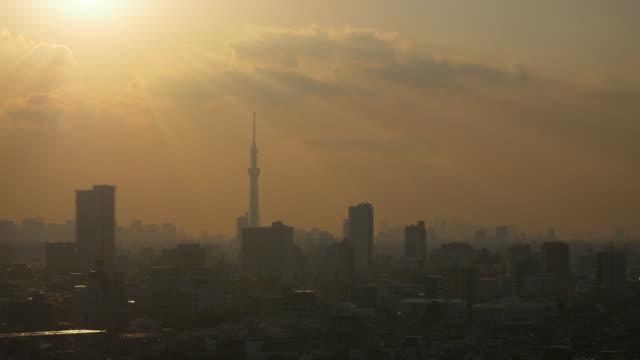 Beautiful SunRay from Tokyo