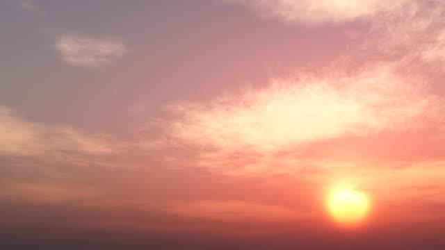 Coucher de soleil magnifique boucle 040