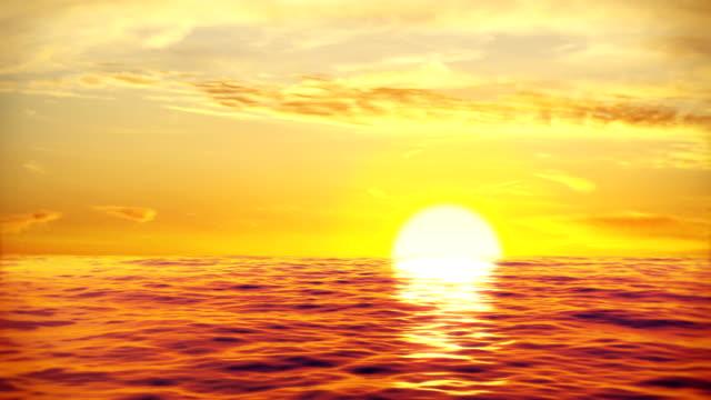 vídeos de stock, filmes e b-roll de belo pôr do sol ondas do mar - ilhas do oceano atlântico