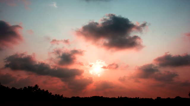 beautiful sunset time-lapse video - illusion stock videos & royalty-free footage
