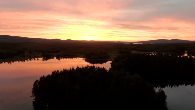 beautiful sunset - summer solstice stock videos and b-roll footage