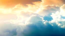 4K :Beautiful Time lapse of cloudscape