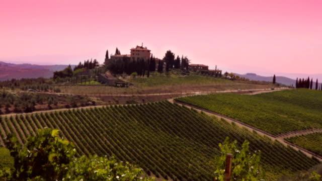 Beautiful Tuscan Scene. HD