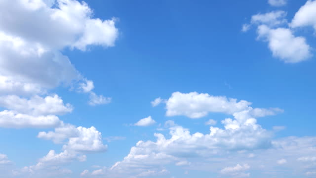 beautiful universally cloudscape background, time lapse - day stock videos & royalty-free footage