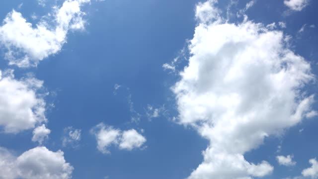 vídeos de stock e filmes b-roll de beautiful universally cloudscape background, time lapse - hd format