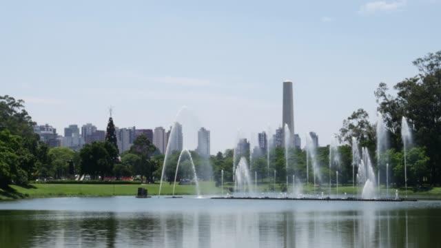 vídeos de stock, filmes e b-roll de vista bonita da skyline de sao paulo - estado de são paulo