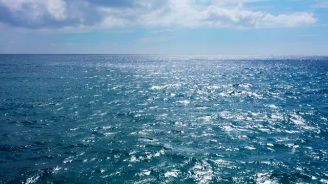 beautiful water surface that shines brightly - horizon over water stock videos & royalty-free footage