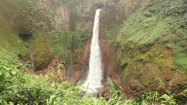beautiful waterfall hd - flowing water stock videos & royalty-free footage