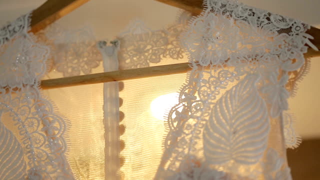 beautiful wedding dress. - evening gown stock videos and b-roll footage