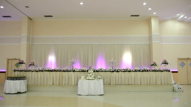 Beautiful wedding restaurant