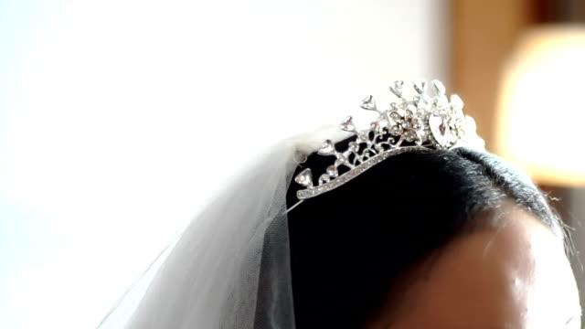 Beautiful wedding tiara for bride, wedding hair accessories for bride.