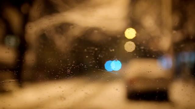 beautiful winter night - cinemanis videography stock videos & royalty-free footage