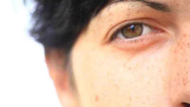 Beautiful Woman Eye, Hd Video