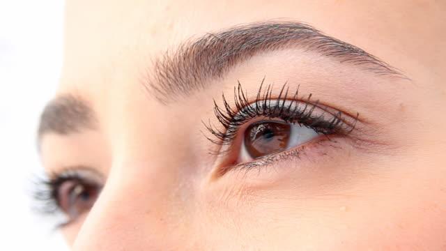 Schöne Frau Augen