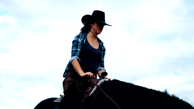 beautiful woman riding on a white horse - all horse riding stock videos and b-roll footage