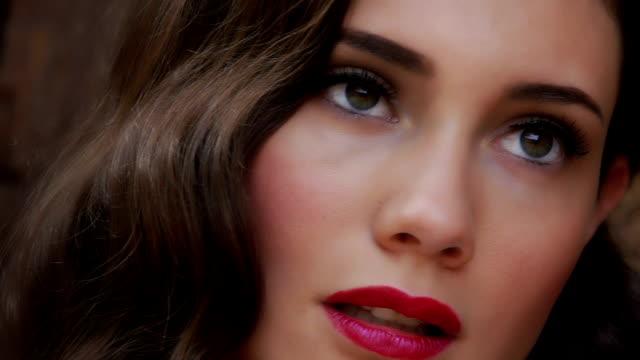 beautiful woman - beautiful woman stock videos & royalty-free footage