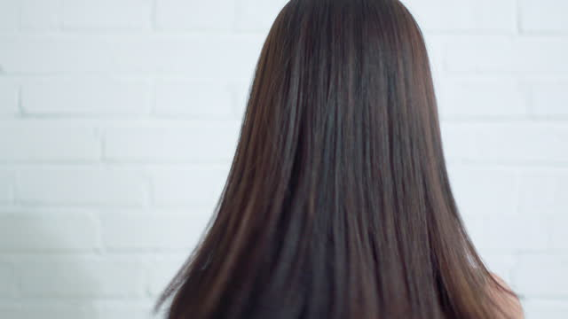 beautiful young woman,4k - human hair stock videos & royalty-free footage
