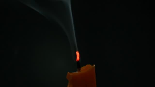 skönhet ljus rök - släcka bildbanksvideor och videomaterial från bakom kulisserna