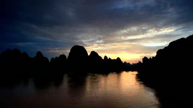 beauty in nature - li river stock videos & royalty-free footage