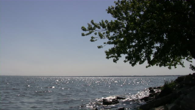 beauty of nature. usa, northwest, michigan. great lakes area. summer. - michigan stock videos & royalty-free footage