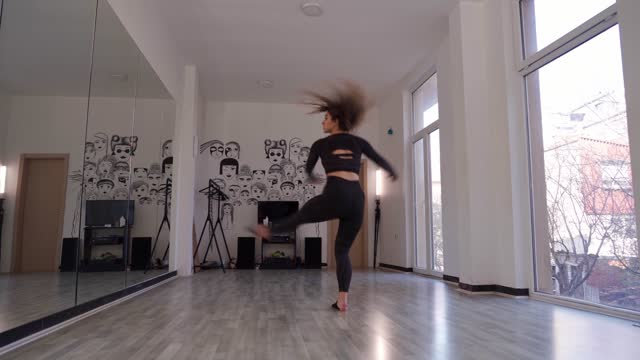 beauty of the movement - ballet dancer stock videos & royalty-free footage