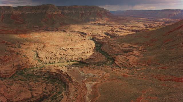 グランドキャニオンのサウスリムの空中美 - grand canyon national park点の映像素材/bロール
