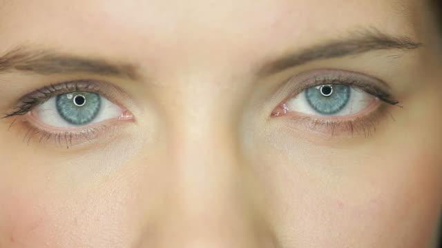 Beauty open eyes