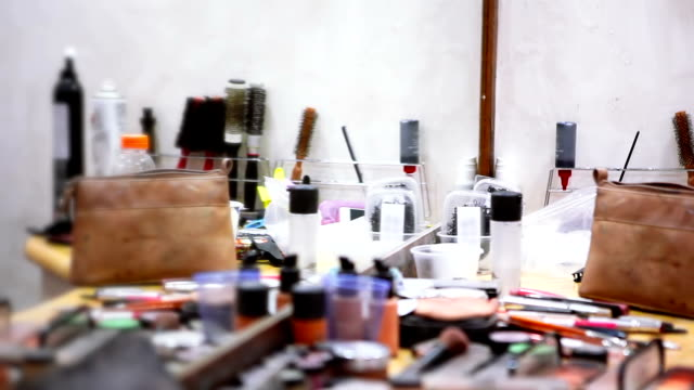 beauty salon - blusher make up stock videos and b-roll footage