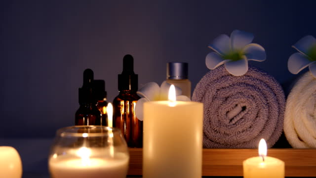 beauty spa candle
