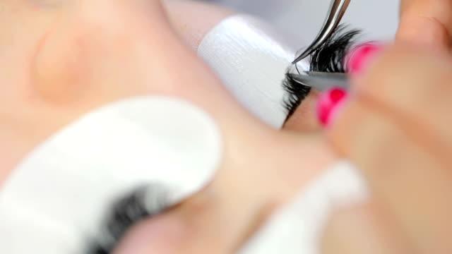 Beauty treatment in spa salon