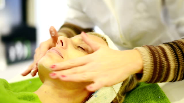 beauty treatment - beautician stock videos and b-roll footage
