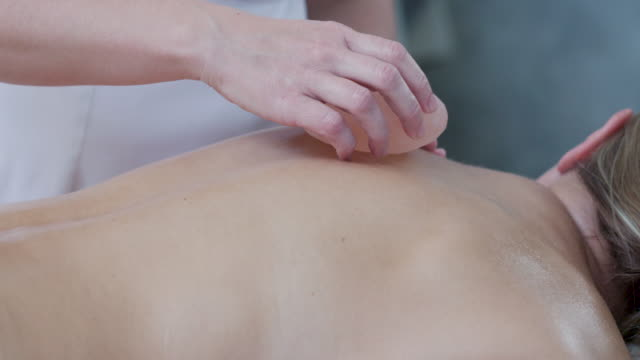 beauty treatments and massage - lastone therapy stock videos and b-roll footage