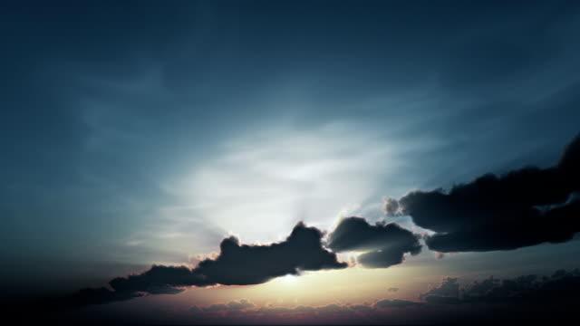 stockvideo's en b-roll-footage met beautyfull sunset-sunrise - kleurtoon