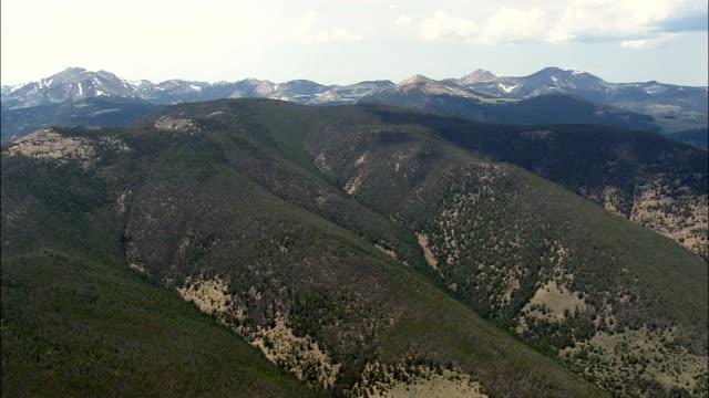 Beaverhead Deerlodge National Forest  - Aerial View - Montana,  Beaverhead County,  helicopter filming,  aerial video,  cineflex,  establishing shot,  United States