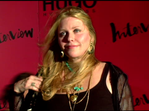 bebe buell at the arckid at hugo boss private concert series at hugo boss roof deck in new york, new york on august 2, 2006. - hugo boss stock-videos und b-roll-filmmaterial