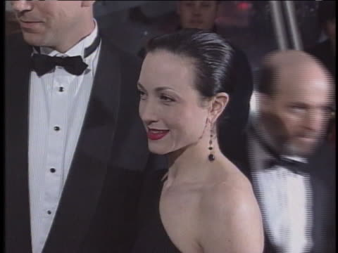 bebe neuwirth arrives at the museum of art costume institute ball. - metropolitan museum of art new york city stock videos & royalty-free footage