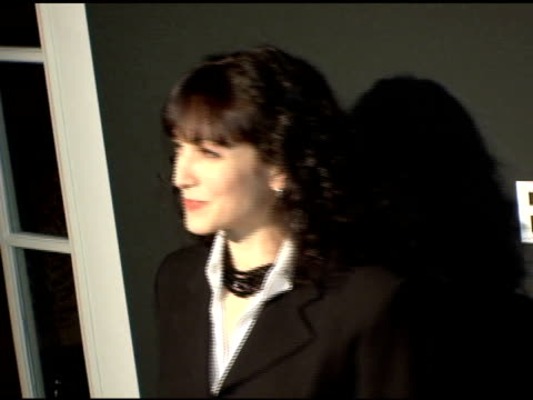 bebe neuwirth at the entertainment weekly's viewing party for 2006 academy awards at elaine's in new york, new york on march 5, 2006. - エンターテインメント・ウィークリー点の映像素材/bロール