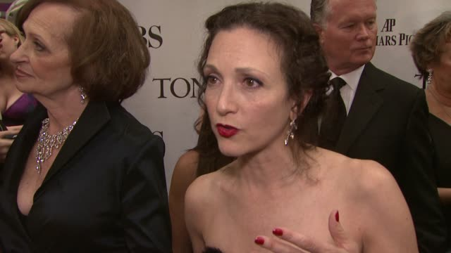 Bebe Neuwirth on how exciting the Tonys are how tight the community is in theatre and how the Tonys are really a celebration of all theater across...