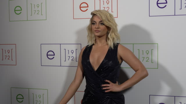bebe rexha on feeling connected to this brand, on self-acceptance, says she's wearing e.1972, on her valentine's day plan at e.1972 runway show on... - interview raw footage stock videos & royalty-free footage