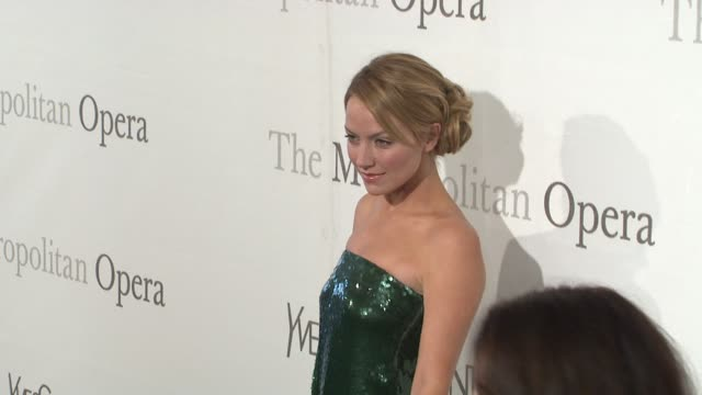 Becki Newton at the The Metropolitan Opera's 125th Anniversary Gala at New York NY